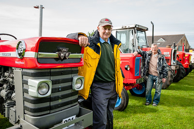 West Bradford Tractor Run 2015