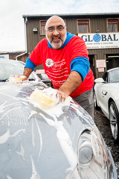 Charity Carwash for East Lancs Hospice