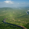 Selous Game Reserve, Tanzania. Area affecetd by potential hydro power dam (2018)