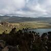 The Black Lake on the Sanetti Plateau, Bale Mountains NP, Ethiopia. © Daniel Rosengren / FZS