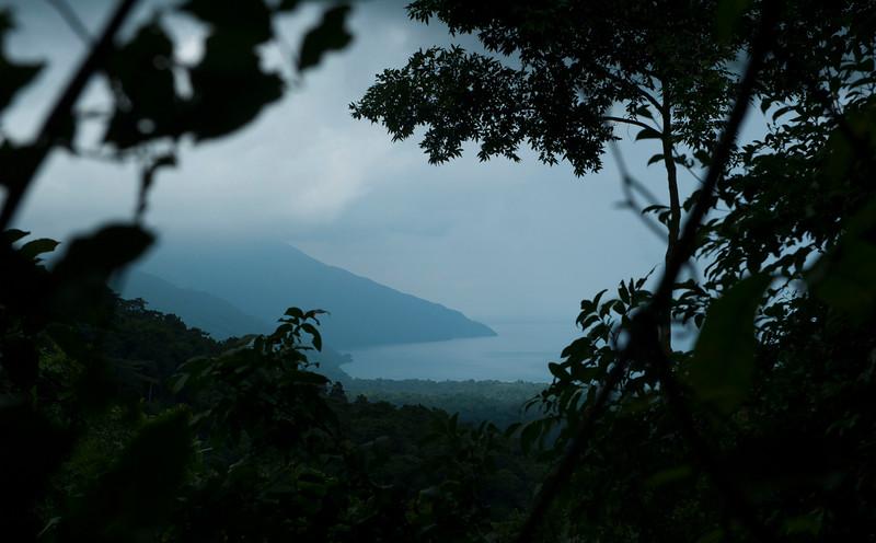 The Mahale landscape; water, rainforest and high mountains. Mahale National Park, Tanzania. © Daniel Rosengren / FZS