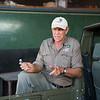 Rian Labuschagne (FZS Serengeti Programme Manager). Serengeti National park, Tanzania. © Daniel Rosengren / FZS