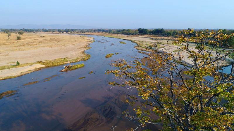 A river in North Luangwa National Park, Zambia. © Daniel Rosengren / FZS