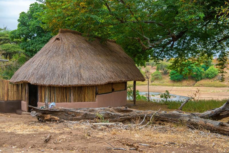 A chalet for tourism in Gonarezhou National Park, Zimbabwe. © Daniel Rosengren / FZS