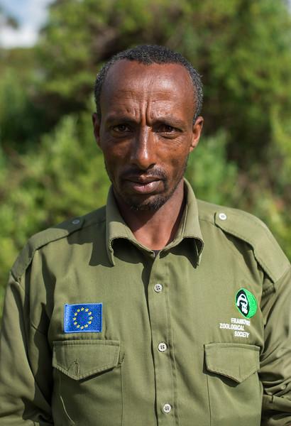 Kadir Nesha, FZS Guard, Bale, Ethiopia. © Daniel Rosengren