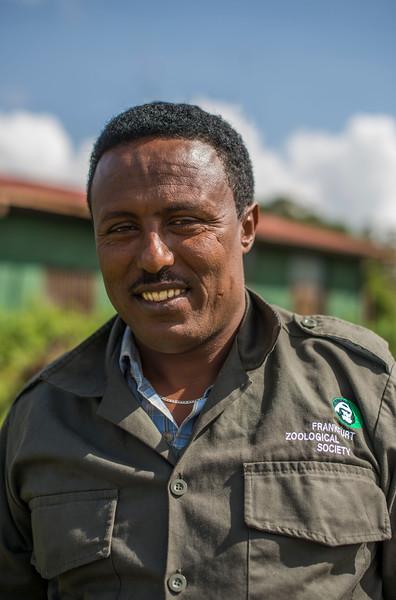 Mendosen Bontitga, FZS driver, Bale, Ethiopia. © Daniel Rosengren