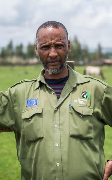 Umer Adem, FZS Bale, Ethiopia. © Daniel Rosengren
