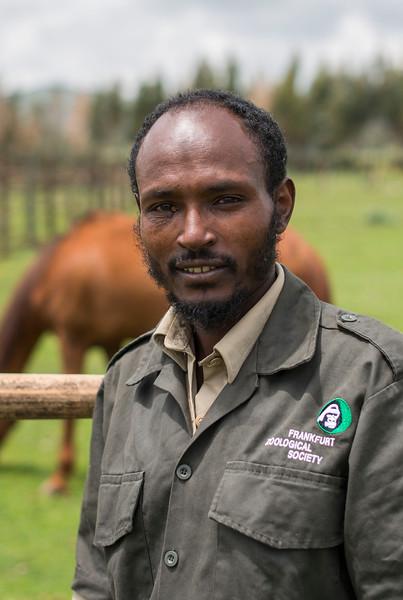 Ahemed Mohammed, FZS Bale, Ethiopia. © Daniel Rosengren