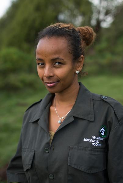 Mahlet Tibebu, FZS accountant, Bale, Ethiopia. © Daniel Rosengren