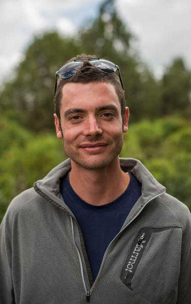 Matt, FZS volunteer, bale, Ethiopia. © Daniel Rosengren
