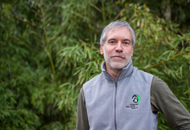 Christof Schenck, Director of FZS at Frankfurt Zoo, Germany. © Daniel Rosengren