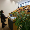 Prof. Dr. Meike Piepenbring a Mycologist at the university giving a presentation at Spring School in the Goethe University, Frankfurt, Germany. © Daniel Rosengren