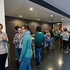 Spring School students taking a coffee break between lectures in the Goethe University, Frankfurt, Germany. © Daniel Rosengren