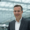 FZS President Klaus Becker in the KPMG part of The Squaire at Frankfurt Airport, Germany. © Daniel Rosengren