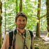 Manuel Schweiger in a forest reserve, Hegbachaue bei Messel, Koberstadt, in Hessen, Germany. © Daniel Rosengren