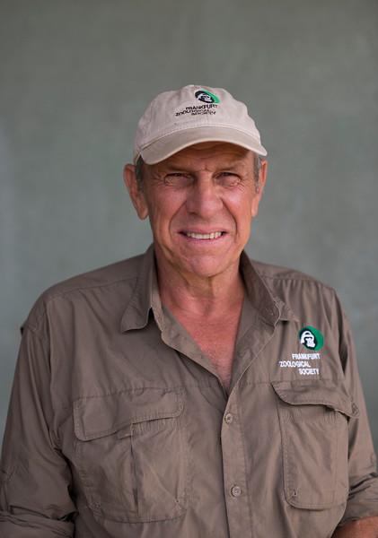 Rian Labuschagne (FZS Serengeti Programme Manager). Seronera, Serengeti, Tanzania. © Daniel Rosengren