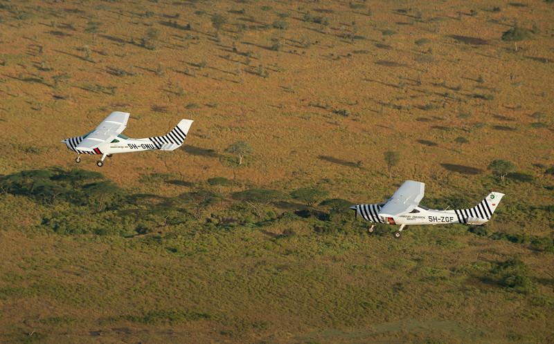 FZS and TANAPA aircraft