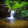 A waterfall in the forest of Kon Ka Kinh NP, Vietnam. @ Daniel Rosengren / FZS