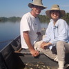 Laureate Category 2<br /> <br /> For exceptional achievements in practical nature conservation. The Award is endowed with 15 000 Euros.<br /> <br /> Silvana Campello and George Georgiadis<br /> <br /> In 1996, while looking for natural areas to protect in Brazil's Amazon, two scientists, Silvana Campello and George Georgiadis, visited the Cantão ecosystem for the first time. They soon realized that here, the populations of fish, aquatic reptiles, birds, giant otters, caimans, and jaguars were very high when compared to average Amazonian numbers. After this trip, they returned to Cantão several times, eventually becoming instrumental contributors to the establishment of Cantão State Park two years later. In 2010, the couple founded an NGO dedicated to research and nature conservation in the Cantão protected area called Instituto Araguaia.<br /> <br /> Thanks to their efforts, Cantão State Park is now considered to be one of Brazil's most important nature reserves, where a growing population of giant otters has full protection, the only place in the country where this is the case. Here, in 2014, the Cantão river dolphins were classified as a separate<br /> <br /> species, now called the Araguaia river dolphin. Also, coordinated work with local communities has reduced hunting and illegal fishing in the protected area.<br /> <br /> It is thanks to Silvana Campello and George Georgiadis's continuous efforts that giant otters and river dolphins continue to show stable populations and that local support for their NGO's important work in protecting the Cantão ecosystem remains, despite the currently difficult political situation in Brazil.<br /> <br /> © Silvana Campello & George Georgiadis