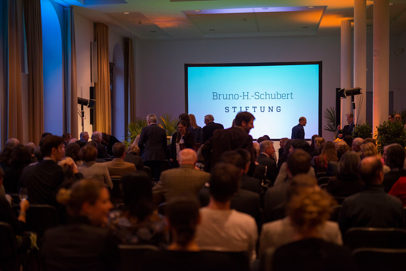 Crowd at the Schubert Prize Awards, 2016. Zoogesellshaftshaus, Frankfurt, Germany. © Daniel Rosengren
