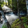 A small waterfall at Pampas del Heath, Bahuaja Sonene NP, Peru. © Daniel Rosengren / FZS