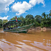 The FZS team in the boat on the Bajo Madre de Dios River, Peru. © Daniel Rosengren / FZS