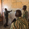 The control room in North Luangwa NP, Zambia. A large analogue map on the wall is used to keep track of ranger patrols, vehicles and rhinos etc. This setup is less likely to be hacked by poachers than a computer. © Daniel Rosengren