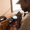 Radios used in the control room in North Luangwa NP, Zambia. © Daniel Rosengren