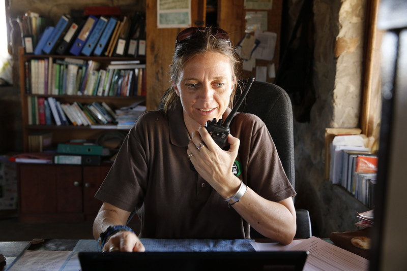 Claire Lewis, North Luangwa Conservation Project