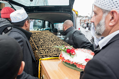 Funeral of Anan and  Arsalaan Habib