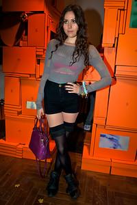 Hermes J'aime Mon Carre Pop Up Store Launch Party in London. Ben Grimes, Eliza Doolittle, Ben Gimes, Lulu Kennedy.