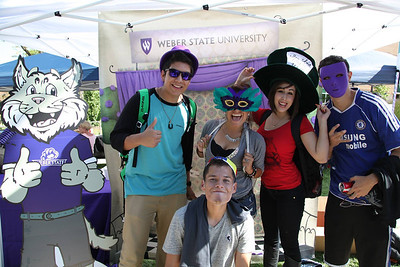 Weber State University, Block Party, August 2013, photographer Matt Gerrish