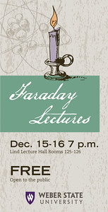 Faraday Lecture Series graphic