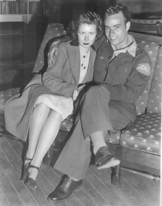 POW Joe Battisti and his wife Cleone
