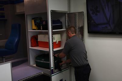 Unload equipment