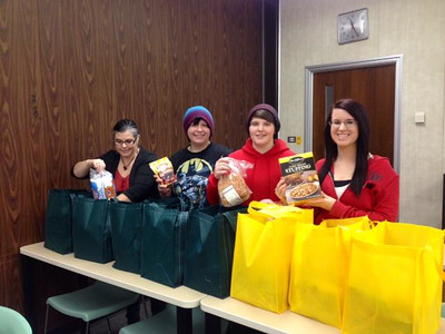 Sociology Club food drive