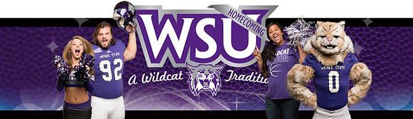 WSU Homecoming Banner
