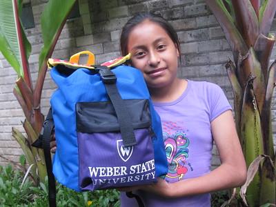 Otonga Foundation backpacks