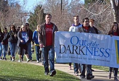 Out of the Darkness campus walk