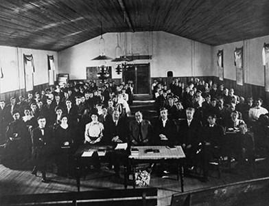 Weber Stake Academy 1901 graduating class