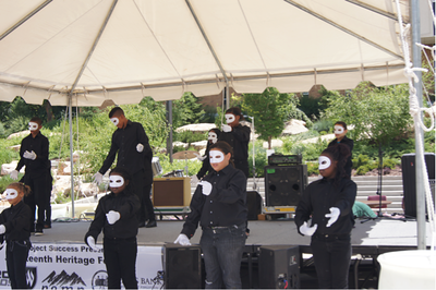 Performers at Juneteenth Festival