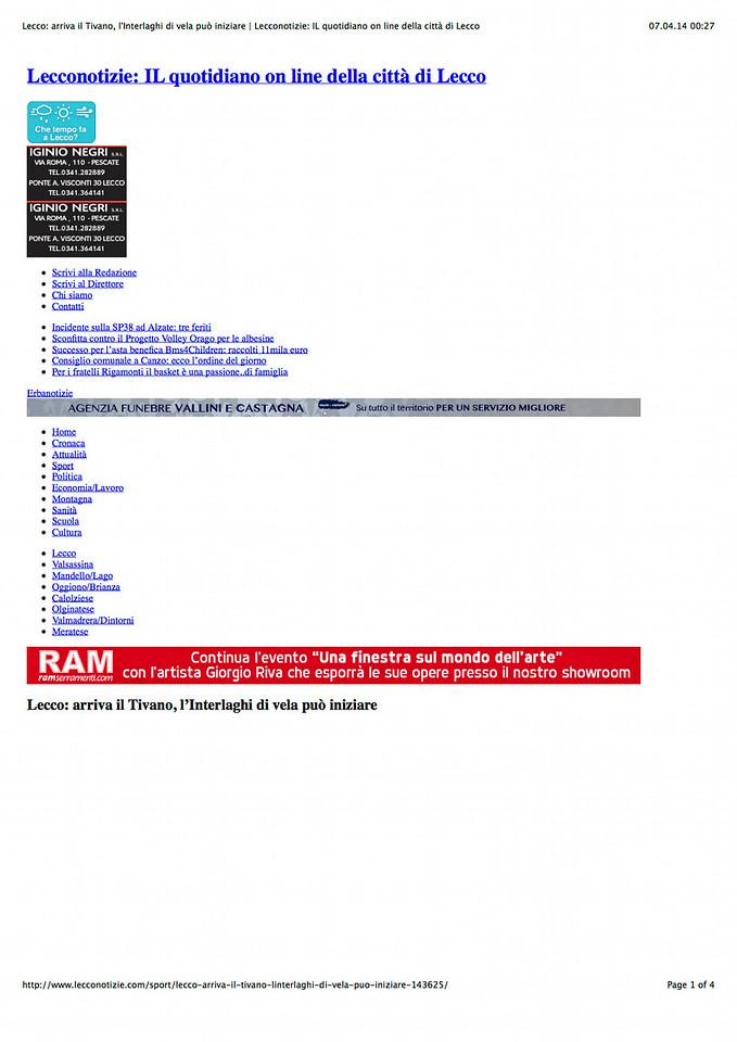 2013Nov02_Interlaghi |Lecconotizie| Lecco: arriva il Tivano, l'Interlaghi di vela può iniziare_01