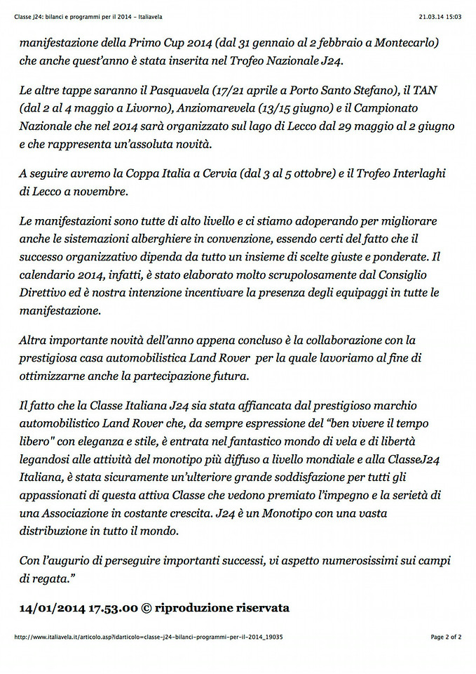 2014Jan14_J24 |italiavela it| Classe J24: bilanci e programmi per il 2014_02