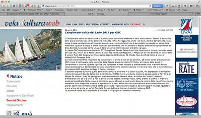 2014Apr08_CVL ORC |Vela d'Altura web| Campionato Velico del Lario 2014 per ORC