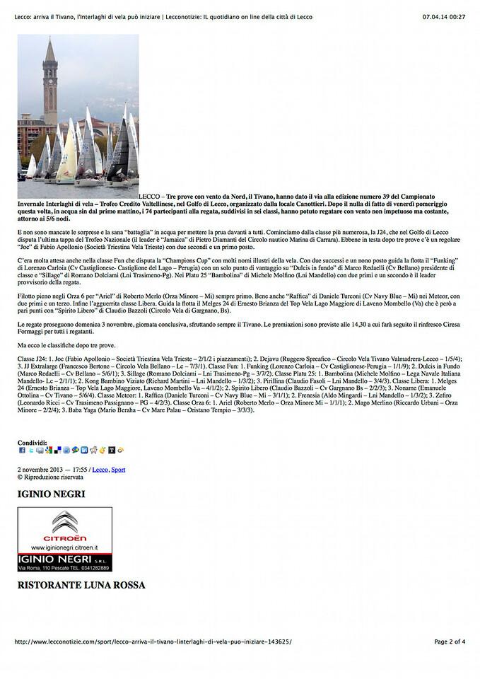 2013Nov02_Interlaghi |Lecconotizie| Lecco: arriva il Tivano, l'Interlaghi di vela può iniziare_02