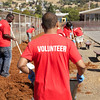 CSUEB day of service at Harder Elementary School in Hayward, CA.