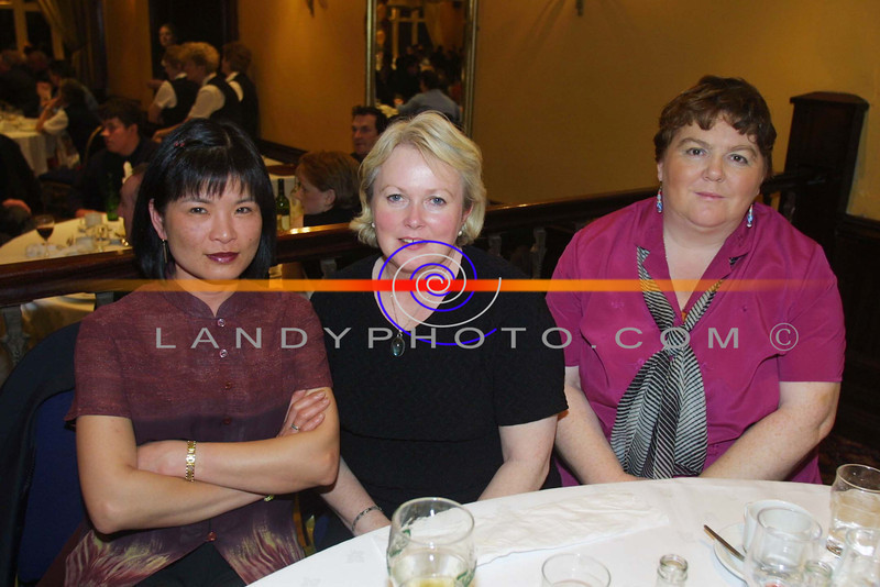 Wahmay Keane ( Cork) Sheila Keane and Maureen Mc Auliffe of Duagh at the Listowel Arms Hotel  for the annual Duagh GAA social.<br /> Pic BRendan Landy