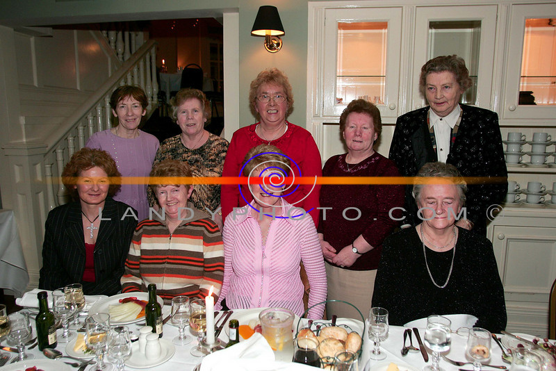 At the ladies little christmas parties in the Listowel Arms Hotel  front L to R: MArie Joy, Betty Griffin, Bridie Carroll and Maureen Keane.<br /> Back Lto R: Nora Costello, Peig Kissane, Marie Hegarty, Mary Heaphy and Ita O Connor, from Lixnaw and Killmorna<br /> Photo Brendan Landy