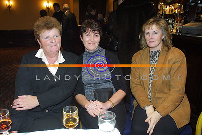 Helen Toomey , Annette Shanahan and Catherine Mullelly ( correct spelling) of clounmachon Listowel at the Clounmachon community Centre Fashion Show in teh Listowel arms Hotel. Pic Brendan Landy