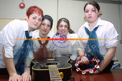 Musicans Margaret Foely,Deirdre Moloney, Tara Mulvihill, and Selena Mulvihill  who took part in  the Shannon Side youth clubs Variety concert in Moyvane. Pic Brendan Landy